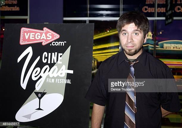 Josh Gomez during CineVegas Film Festival 2003 Screening of Last Man Running at The Palms Casino Resort in Las Vegas Nevada United States
