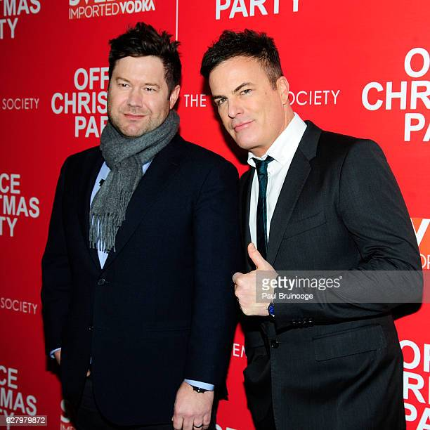 "Josh Gordon and Will Speck attend the Paramount Pictures with Paramount Pictures with The Cinema Society & Svedka Host a Screening of ""Office..."