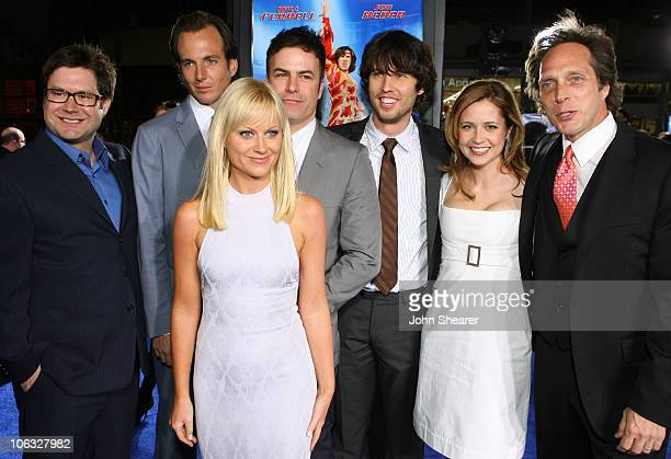 Josh Gordon codirector Will Arnett Amy Poehler Will Speck codirector Jon Heder Jenna Fischer and William Fichtner