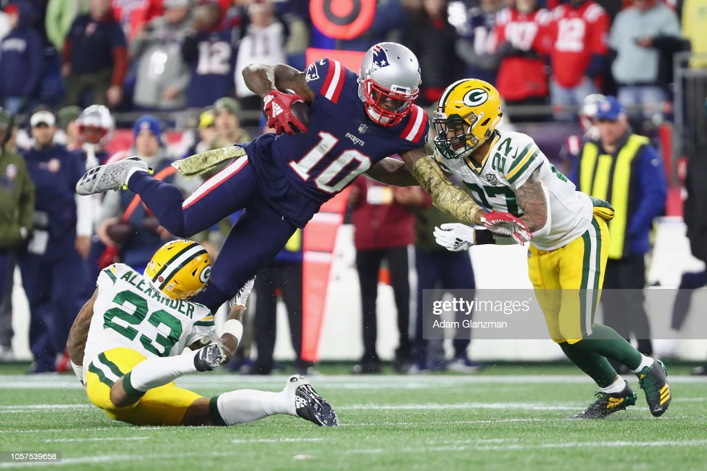 Green Bay Packers v New England Patriots : News Photo