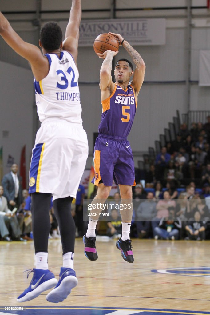 Northern Arizona Suns v Santa Cruz Warriors