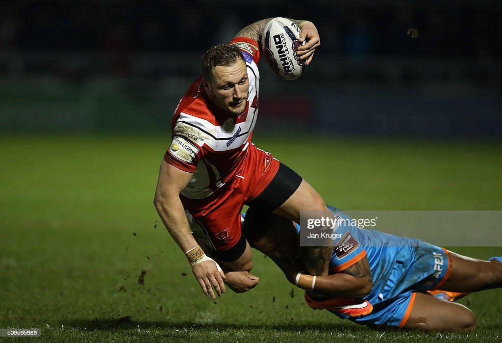 Salford City Reds v St Helens - First Utility Super League : News Photo