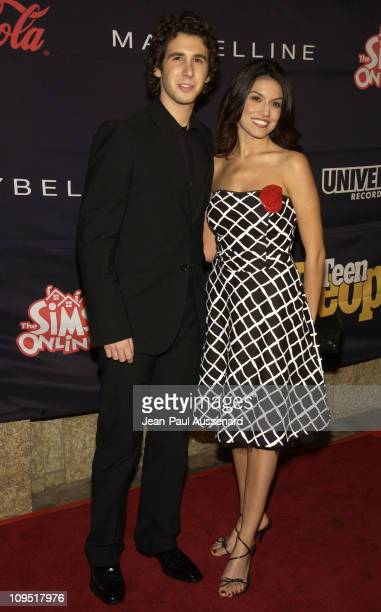 Josh Groban and Amanda Avila during Teen People and Universal Records Honor Nelly as the 2002 Artist of the Year Arrivals at Ivar in Hollywood...