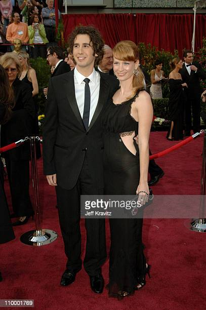 Josh Groban and Guest during The 77th Annual Academy Awards - Arrivals at Kodak Theatre in Los Angeles, California, United States.