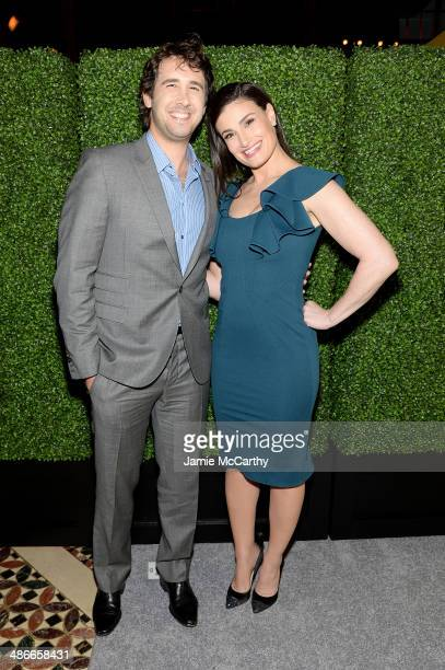 Josh Groban and Idina Menzel attend Variety Power Of Women New York presented by FYI at Cipriani 42nd Street on April 25 2014 in New York City