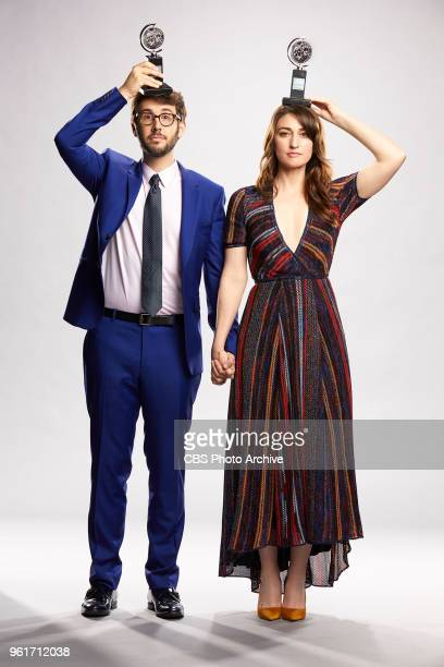 Josh Groban and Sara Bareilles hosts of THE 72ND ANNUAL TONY AWARDS