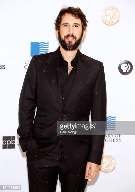 Josh Groban arrives at the Gershwin Prize Honoree's Tribute Concert at DAR Constitution Hall on November 15 2017 in Washington DC