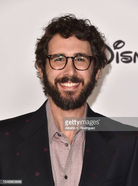 Josh Groban attends Mickey's 90th Spectacular at The Shrine Auditorium on October 6 2018 in Los Angeles California