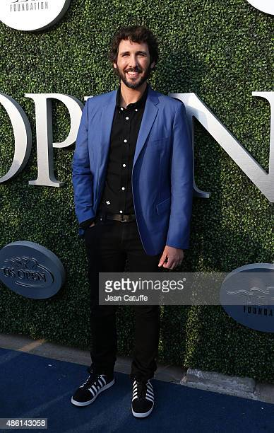 Josh Groban attends the 15th Annual USTA Opening Night Gala on Day 1 of the 2015 US Open at USTA Billie Jean King National Tennis Center on August 31...