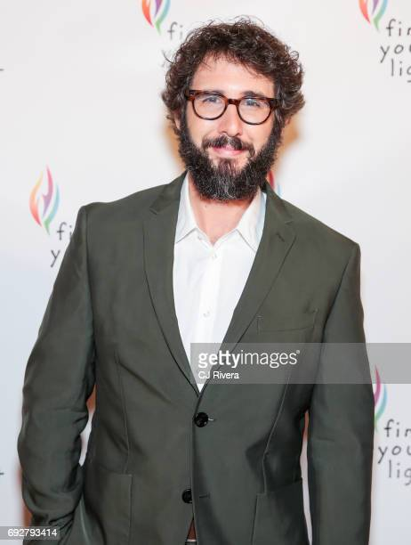Josh Groban attends the 2017 Find Your Light Gala at City Winery on June 5 2017 in New York City