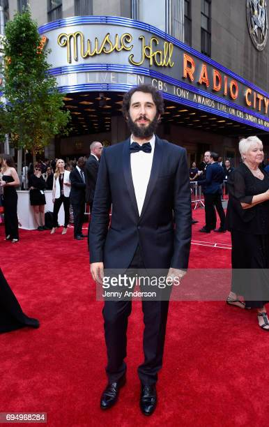 Josh Groban attends the 2017 Tony Awards at Radio City Music Hall on June 11 2017 in New York City