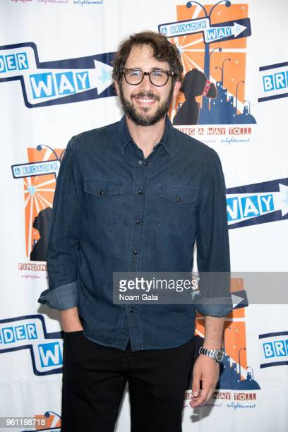 Josh Groban attends the Camp BroaderWay Karaoke Benefit Concert at PlayStation Theater on May 21 2018 in New York City