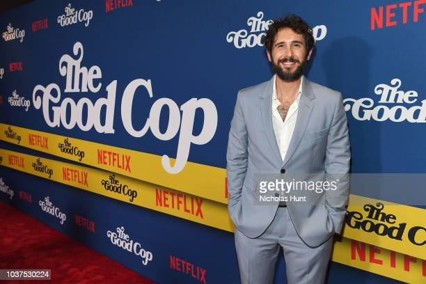 Tony Danza and Emmie Danza attend the after party for the New York Premiere of Netflix's Original Series 'The Good Cop' at Casa Nonna on September 21...