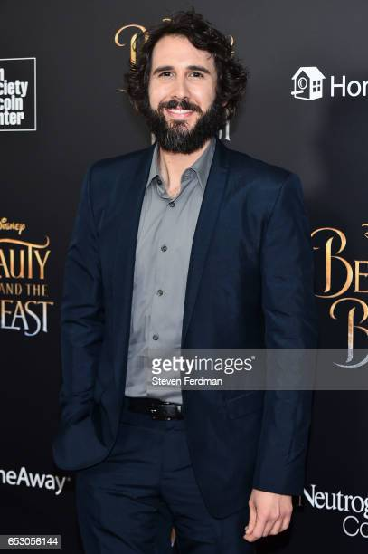 Josh Groban attends the New York Screening of 'Beauty And The Beast' at Alice Tully Hall on March 13 2017 in New York City