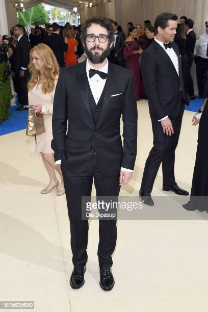 Josh Groban attends the 'Rei Kawakubo/Comme des Garcons Art Of The InBetween' Costume Institute Gala at Metropolitan Museum of Art on May 1 2017 in...