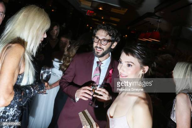 Josh Groban attends the Tony Awards Gala at the Plaza on June 10 2018 in New York New York