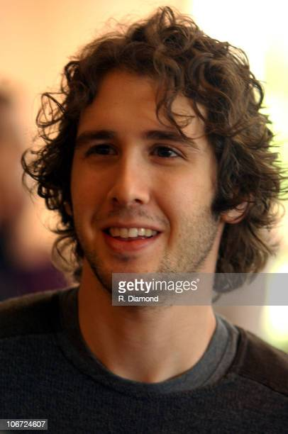 Josh Groban during St Jude Childrens Research Hospital Shower of Stars 40th Anniversary Hospital Tour at St Jude Children's Research Hospital in...