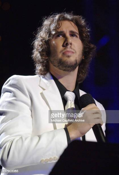Josh Groban during The Recording Academy and EIF Hosts the Second Annual GRAMMY Jam Show at Orpheum Theatre in Los Angeles California United States