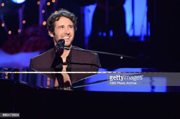 Josh Groban Kelly Clarkson Kacey Musgraves and Kane Brown perform on the 19th annual A HOME FOR THE HOLIDAYS WITH JOSH GROBAN a holiday special...