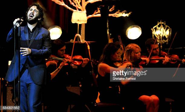 Josh Groban performs at Bridgewater Hall on May 25 2016 in Manchester England