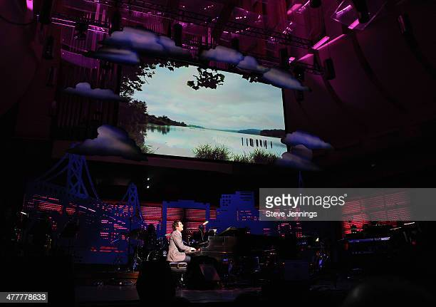 Josh Groban performs at the UCSF Medical Center and The Painted Turtle Present A Starry Evening of Music Comedy Surprises at Davies Symphony Hall on...