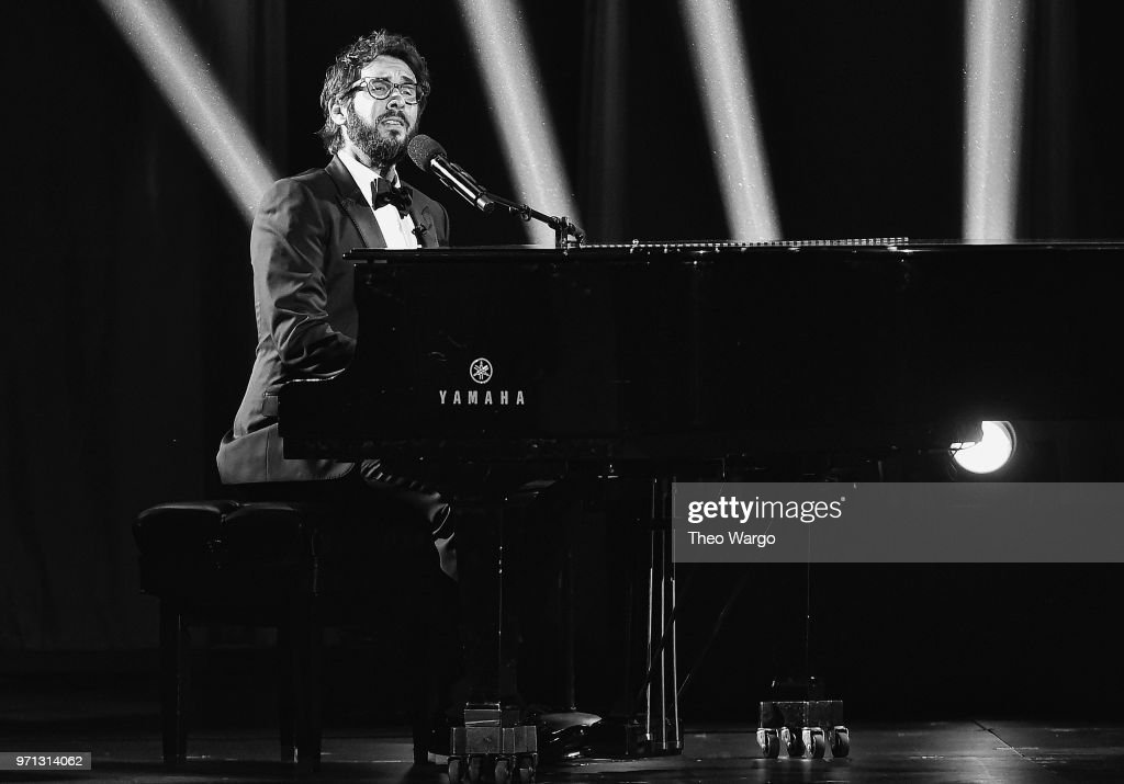 Josh Groban performs onstage during the 72nd Annual Tony Awards at Radio City Music Hall on June 10, 2018 in New York City.