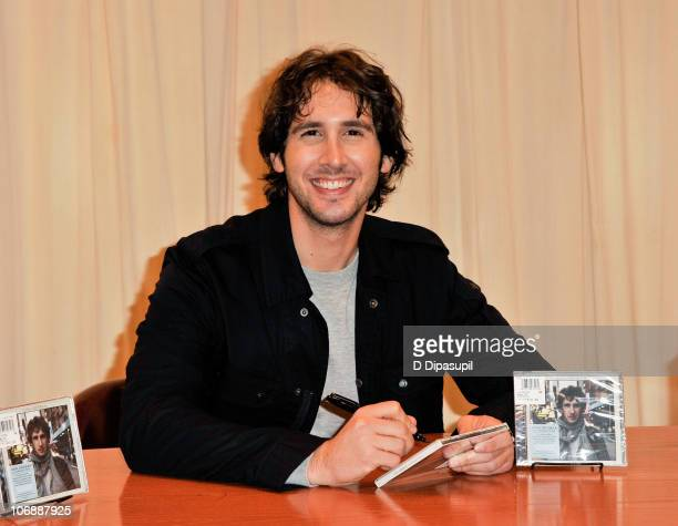 Josh Groban promotes his new album 'Illuminations' at Barnes Noble 5th Avenue on November 15 2010 in New York City
