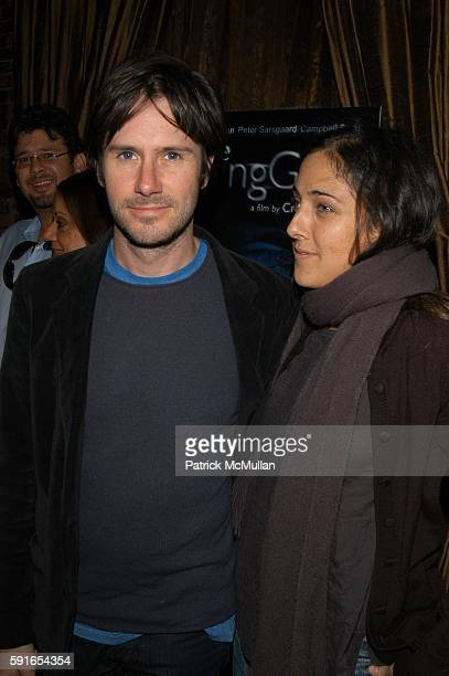 Josh Hamilton and Lily Thorne attend Dying Gaul Arrivals and After Party at Clearview Chelsea West on November 1 2005 in New York City