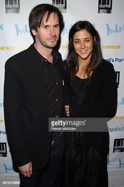 Josh Hamilton and Lily Thorne attend INTERVIEW MAGAZINE Afterparty for the Opening Night of the Off Broadway Play ABIGAIL'S PARTY at Sascha on...