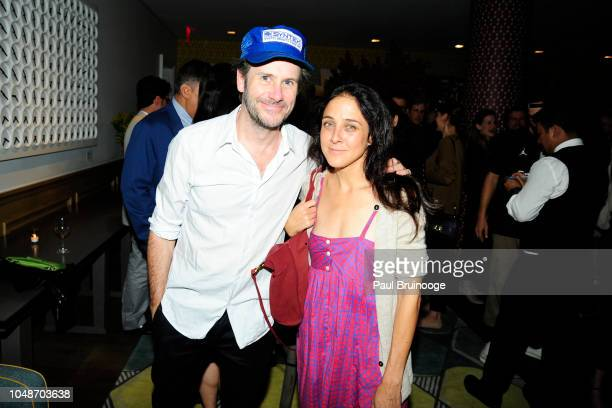 Josh Hamilton and Lily Thorne attend Netflix Special Screening Of The Kindergarten Teacher at Crosby Street Hotel on October 9 2018 in New York City