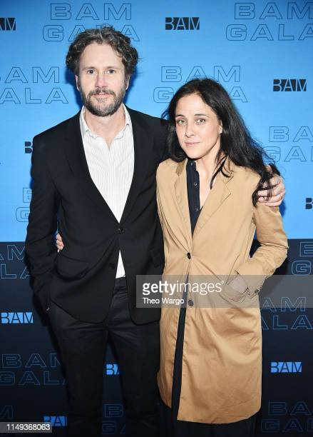 Josh Hamilton and Lily Thorne attend the BAM Gala 2019 on May 15 2019 in New York City