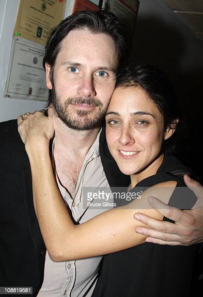 Josh Hamilton and wife Lily Thorne attends the Opening Night After Party for Three Sisters OffBroadway at Pangea on February 3 2011 in New York City
