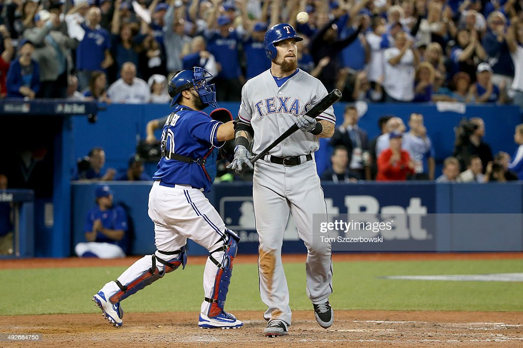 Division Series - Texas Rangers v Toronto Blue Jays - Game Five
