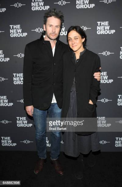 Josh Hamiton and Lily Thorne attend the 2017 New Group gala at Tribeca Rooftop on March 6 2017 in New York City