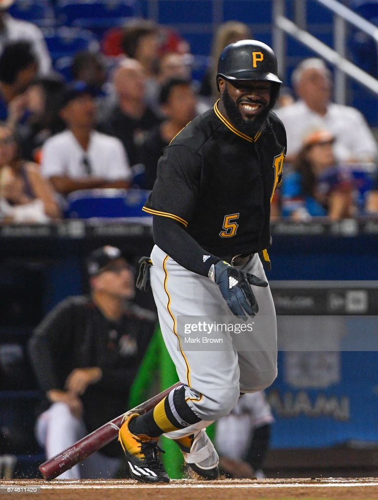 Pittsburgh Pirates v Miami Marlins : News Photo