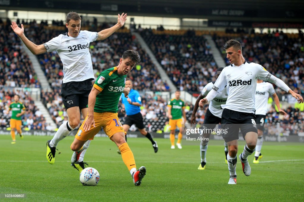 Derby County v Preston North End - Sky Bet Championship : News Photo