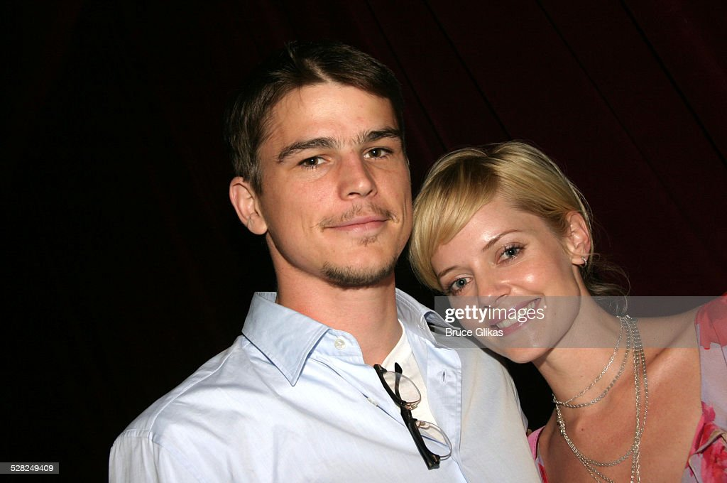 Josh Hartnett and Marley Shelton during After The Fall Broadway Opening Night - After Party at B.B. Kings in New York City, New York, United States.