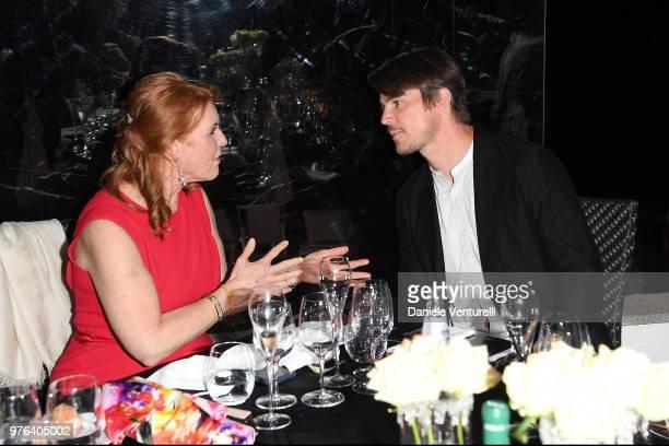 Josh Hartnett and Sarah Ferguson attend the 'Filming Italy Sardegna Festival' Gala Dinner at Forte Village Resort on June 16 2018 in Santa Margherita...