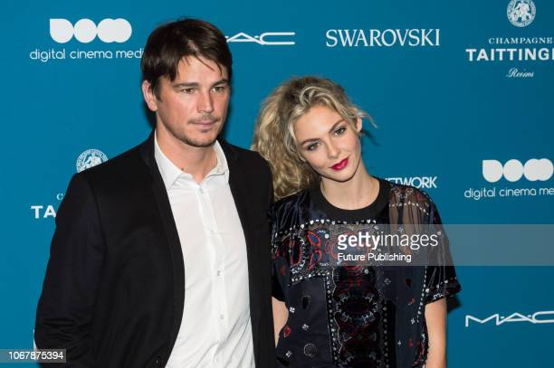 Josh Hartnett and Tamsin Egerton attend the 21st British Independent Film Awards at Old Billingsgate in the City of London December 02 2018 in London...