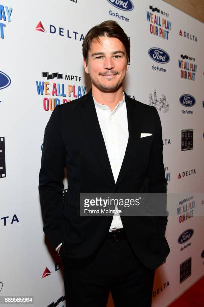 Josh Hartnett at the 6th Annual Reel Stories, Real Lives event benefiting MPTF at Milk Studios on November 2, 2017 in Hollywood, California.