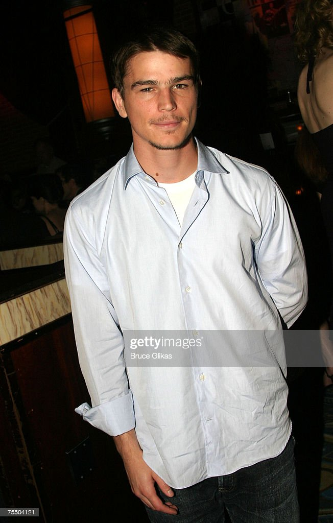 Josh Hartnett at the 'After The Fall' Broadway Opening Night - After Party at B.B. Kings in New York City, New York.