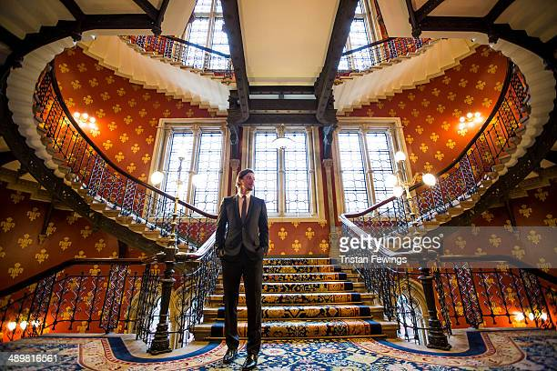 """Josh Hartnett attends a photocall for Sky Atlantic's """"Penny Dreadful"""" at St Pancras Renaissance Hotel on May 12, 2014 in London, England."""
