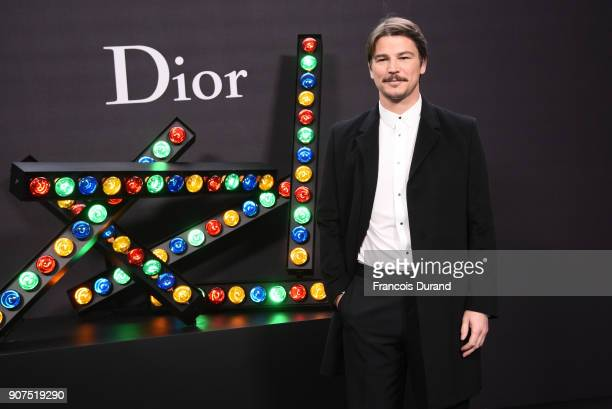 Josh Hartnett attends Dior Homme Menswear Fall/Winter 20182019 show as part of Paris Fashion Week at Grand Palais on January 20 2018 in Paris France