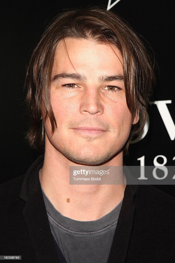 Josh Hartnett attends the 6th annual Hollywood Domino Gala & Tournament held at teh Sunset Tower on February 21, 2013 in West Hollywood, California.