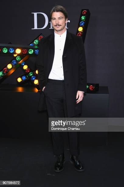 Josh Hartnett attends the Christian Dior Haute Couture Spring Summer 2018 show as part of Paris Fashion Week on January 22 2018 in Paris France