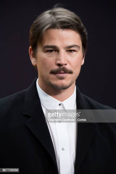 Josh Hartnett attends the Dior Homme Menswear Fall/Winter 20182019 show as part of Paris Fashion Wee January 20 2018 in Paris France