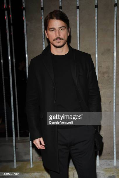 Josh Hartnett attends the Dsquared2 show during Milan Menswear Fashion Week Fall/Winter 2018/19 on January 14 2018 in Milan Italy