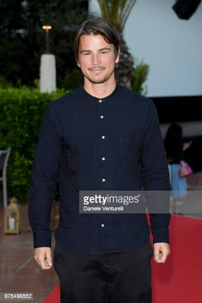 Josh Hartnett attends the 'Filming Italy Sardegna Festival' Dinner at Forte Village Resort on June 15, 2018 in Santa Margherita di Pula, Cagliari,...