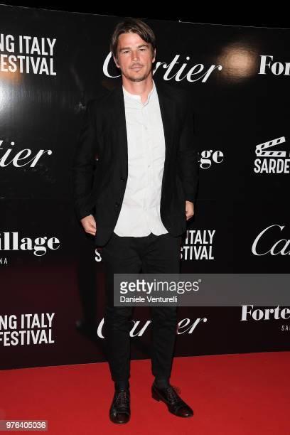 Josh Hartnett attends the 'Filming Italy Sardegna Festival' Gala Dinner at Forte Village Resort on June 16 2018 in Santa Margherita di Pula Cagliari...