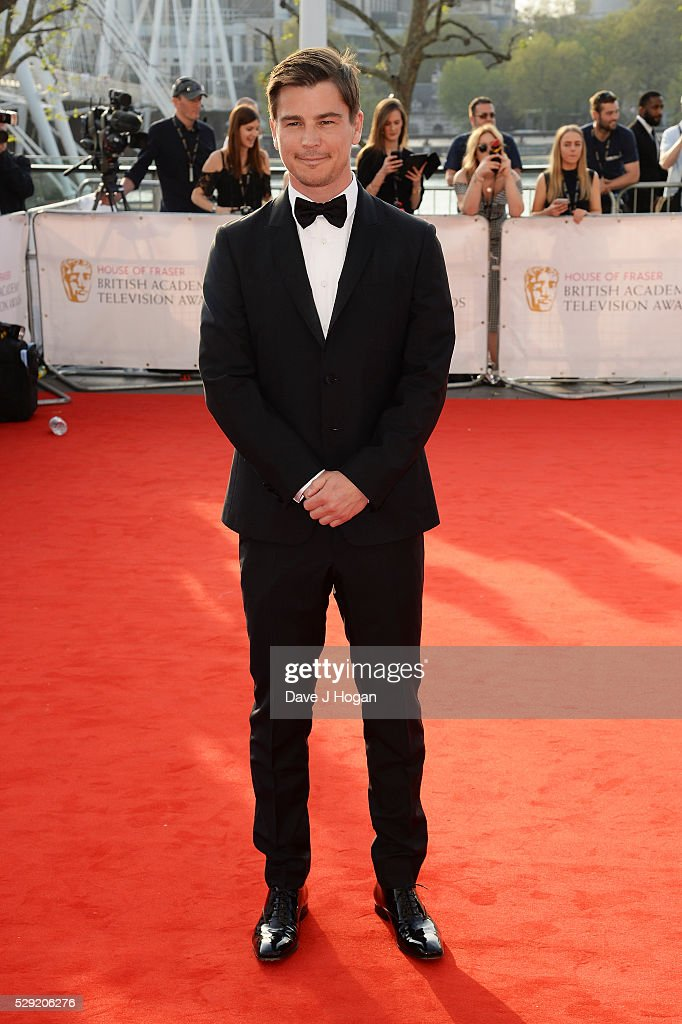 Josh Hartnett attends the House Of Fraser British Academy Television Awards 2016 at the Royal Festival Hall on May 8, 2016 in London, England.